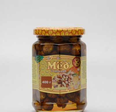 Мед с фундуком 0,4 кг
