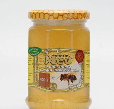 Мед с маточным молочком 0,4 кг