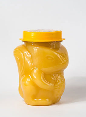 Мед натуральный, пластиковая банка «Белочка»