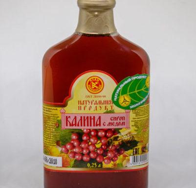 Сироп «Калина с медом»