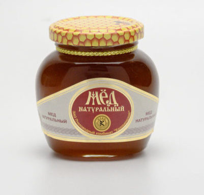 Мед натуральный 0,25 кг