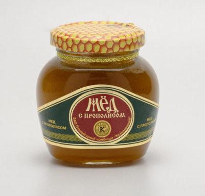 Мед с прополисом 0,25 кг