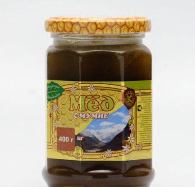 Мед с мумие 0,4 кг