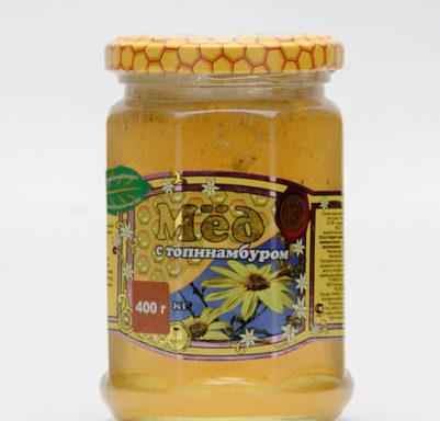Мед с топинамбуром 0,4 кг