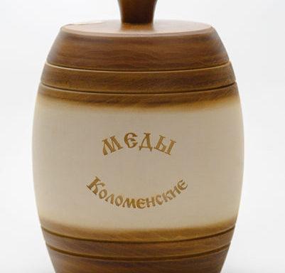 """Бочонок деревянный """"Медок"""" 0,5 кг"""