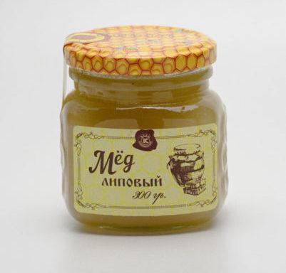 Мёд липовый 0,3 кг