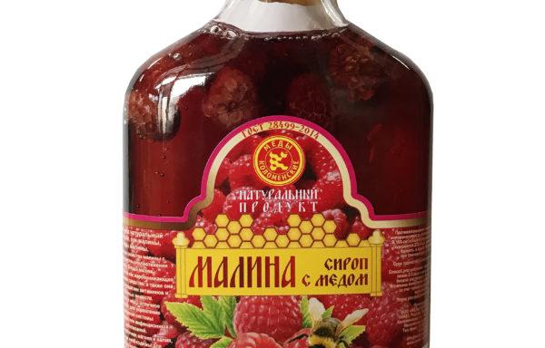"""Сироп """"Малина с мёдом"""""""